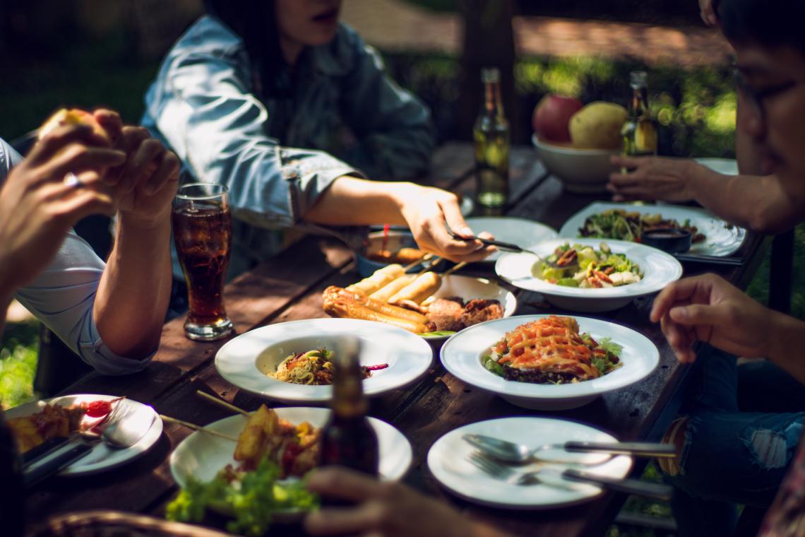 Restaurantbesuch als Referenz für Dynamics 365