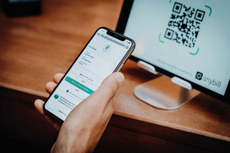 Der Kassenbeleg wird digital